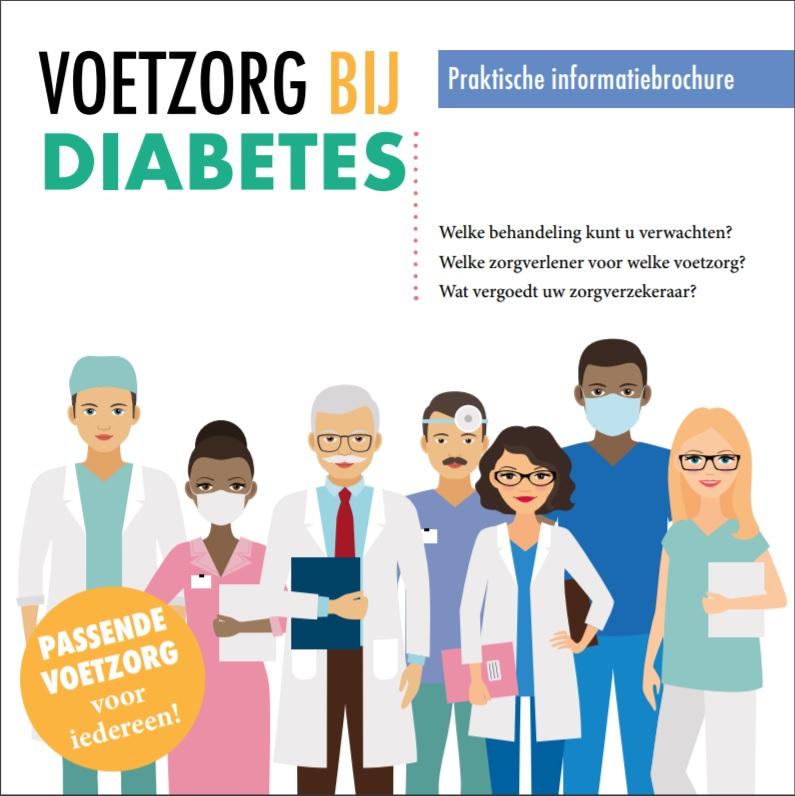 Nieuwe brochure toegevoegd: 'Voetzorg bij diabetes'